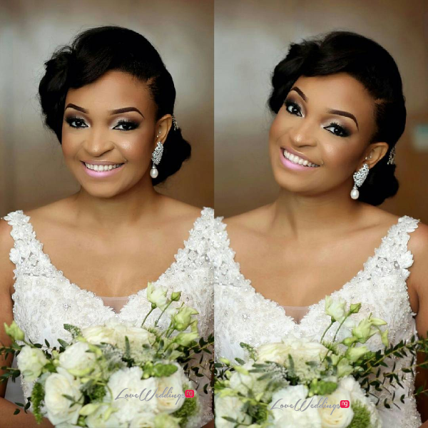 Nigerian Wedding Chidinma and Chuka #DimmyChu16 LoveweddingsNG Bride Bouquet 1