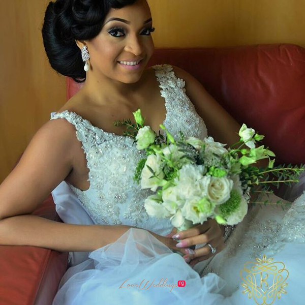 Nigerian Wedding Chidinma and Chuka #DimmyChu16 LoveweddingsNG Bride Bouquet