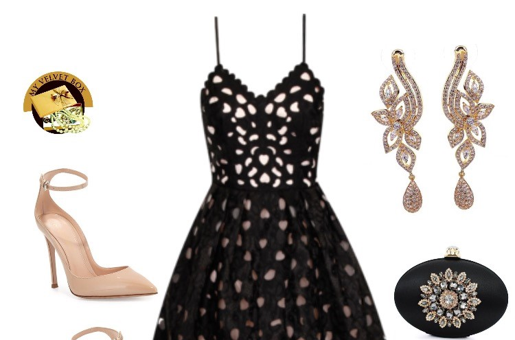Look Stunning in Black & Nude | Style Edits by My Velvet Box NG