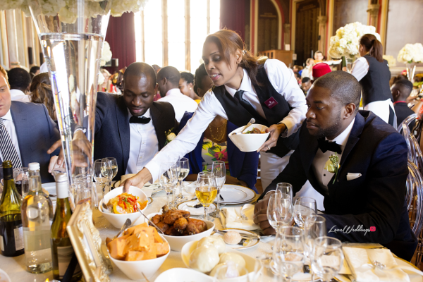 Nigerian Wedding Joy and Ifeanyi Favour Catering and Events LoveweddingsNG
