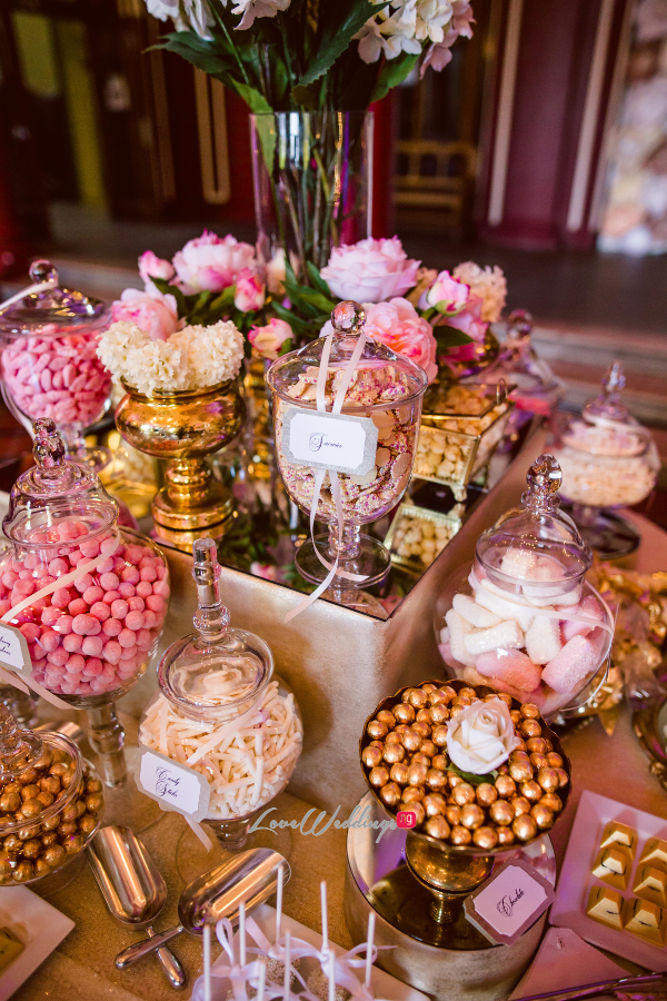 Nigerian Wedding Joy and Ifeanyi Sweet Table Sweetie Factory LoveweddingsNG 9
