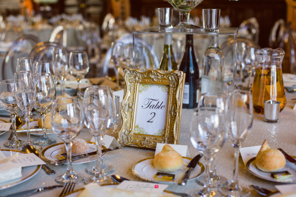 Nigerian Wedding Joy and Ifeanyi Table Numbers Perfect Events LoveweddingsNG 1