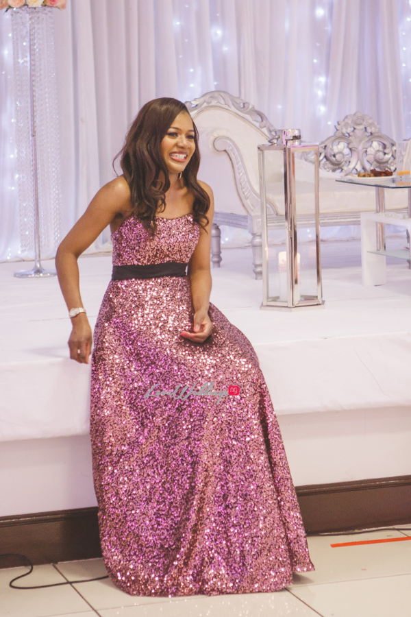 Nigerian Wedding in Leeds Morenike and Temidayo Reception Dress LoveweddingsNG