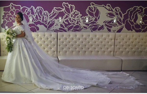 Noble Igwe Chioma Otisi Bride Nigerian Celebrity Wedding LoveweddingsNG Obi Somto