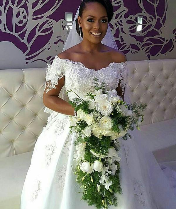 Noble Igwe Chioma Otisi Bride Nigerian Celebrity Wedding LoveweddingsNG