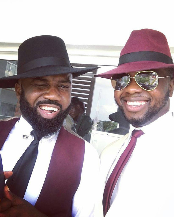 Noble Igwe Chioma Otisi Groom Adebola Williams Nigerian Celebrity Wedding LoveweddingsNG