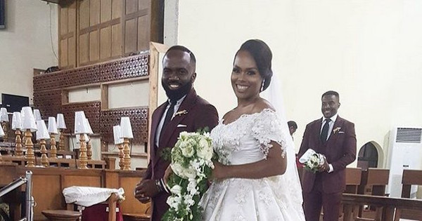 #CHOBS2016: First Photos From Noble Igwe & Chioma Otisi's White Wedding