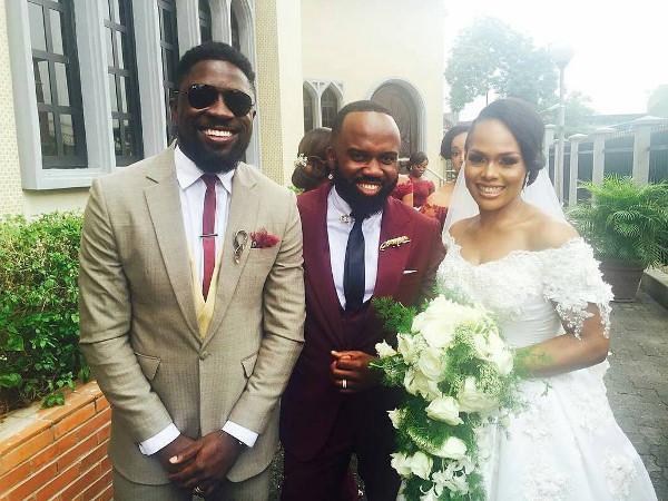 Noble Igwe Chioma Otisi Segun Demuren Nigerian Celebrity Wedding LoveweddingsNG