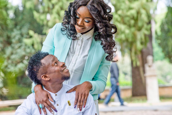 Onazi Ogenyi Sandra Ogunsuyi Pre Wedding Photos LoveweddingsNG 1