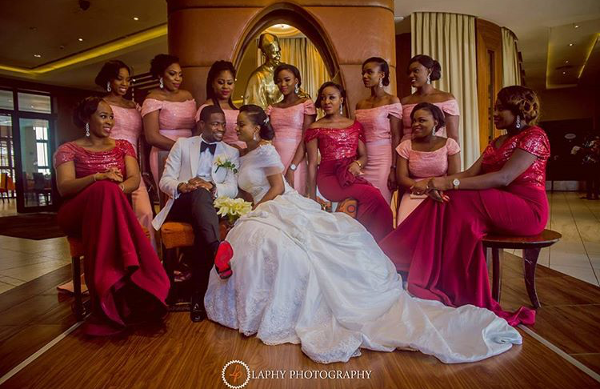 Popular Lagos Wedding Statue LoveweddingsNG Laphy Photography 1