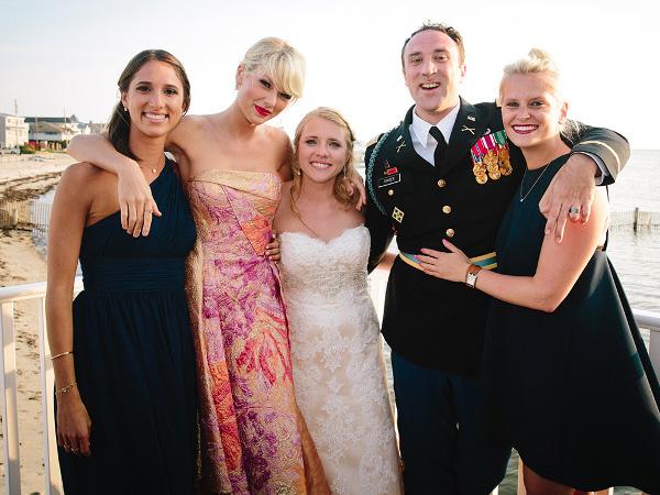 Taylor Swift Surprise Fan Wedding LoveweddingsNG