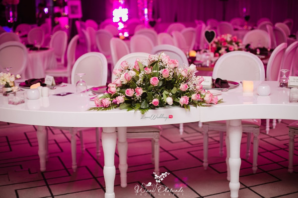 Tolu Oniru and Tunde Demuren Dubai Wedding Wani Olatunde LoveweddingsNG TSquared Decor 1