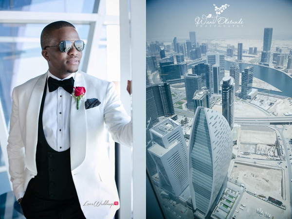 Tolu Oniru and Tunde Demuren Dubai Wedding Wani Olatunde LoveweddingsNG TSquared Groom