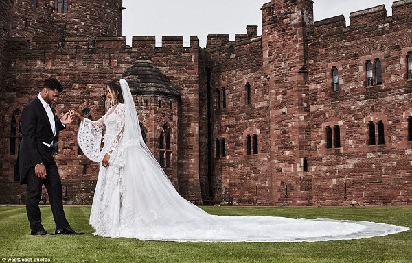 Ciara Russell Wilson Wedding Pictures LoveweddingsNG 1