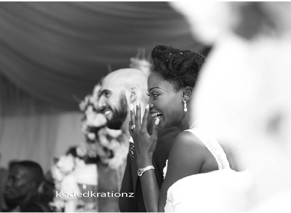 Esther and Kyrillos Yoruba Greek Wedding Bride and Groom Koded Krationz LoveweddingsNG