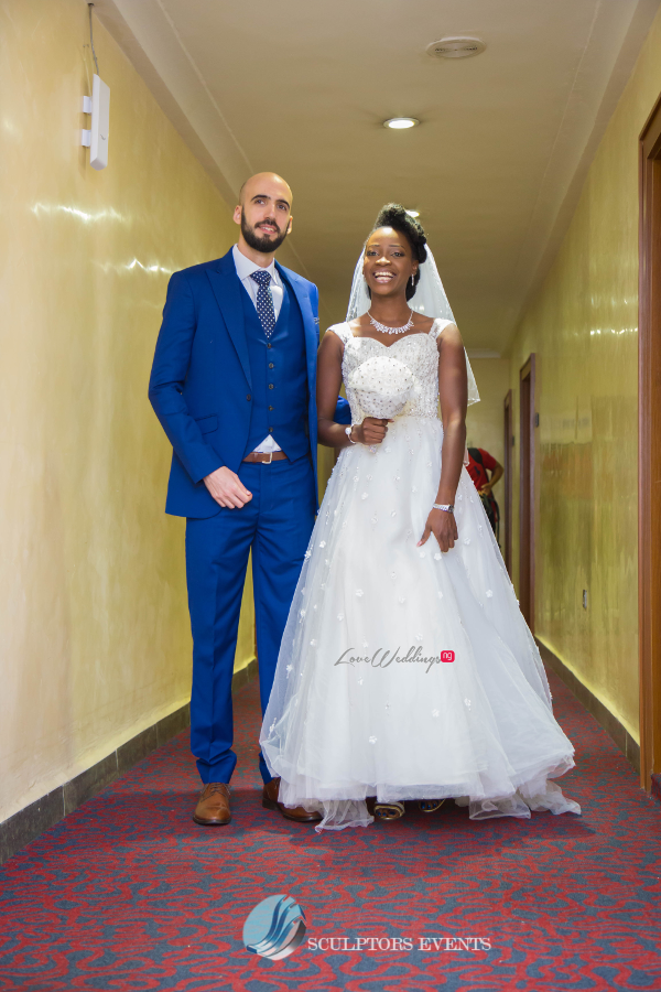 Esther and Kyrillos Yoruba Greek Wedding Bride and Groom Sculptors Event Planners LoveweddingsNG 1