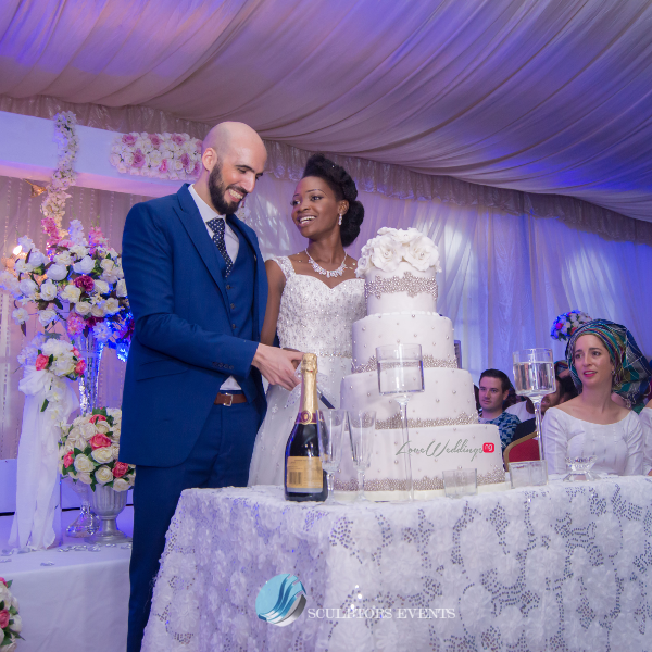 Esther and Kyrillos Yoruba Greek Wedding Cake Sculptors Event Planners LoveweddingsNG