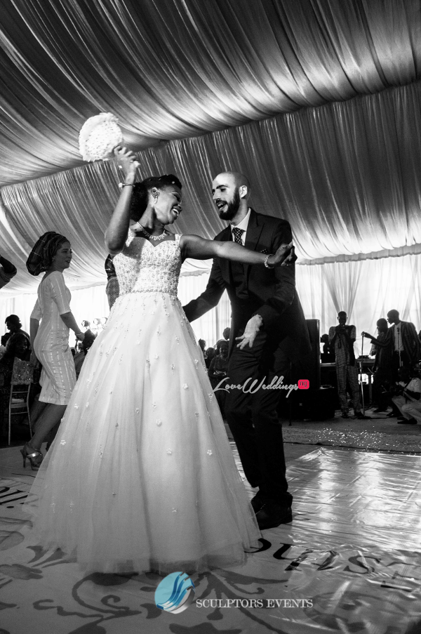 Esther and Kyrillos Yoruba Greek Wedding Dance Sculptors Event Planners LoveweddingsNG