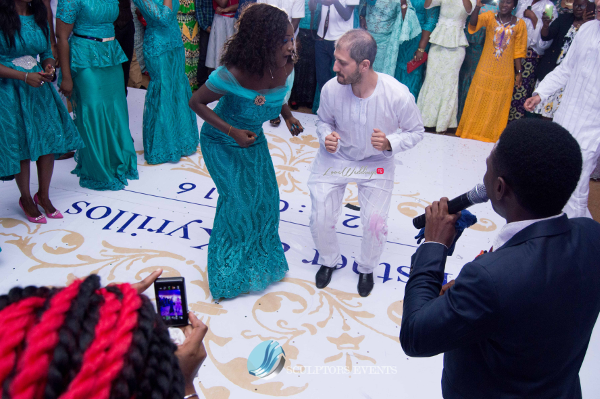 Esther and Kyrillos Yoruba Greek Wedding Guests Dance Sculptors Event Planners LoveweddingsNG 1