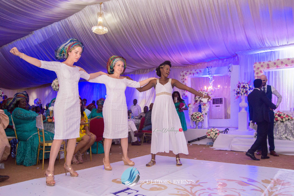 Esther and Kyrillos Yoruba Greek Wedding Sculptors Event Planners LoveweddingsNG 1