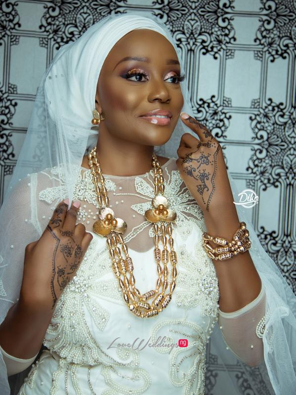 Michelle Dede Hausa Bride LoveweddingsNG 1