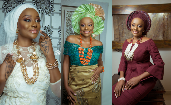 Michelle Dede Channels Three Stunning Traditional Bridal Looks