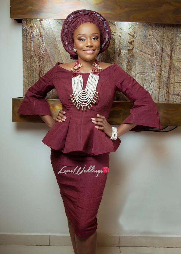 Michelle Dede Yoruba Bride LoveweddingsNG 1