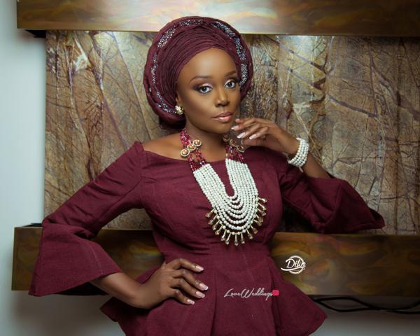 Michelle Dede Yoruba Bride LoveweddingsNG 2
