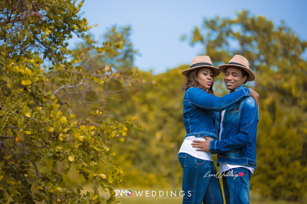 Nigerian PreWedding Shoot Rotimi and Blessing Tamo Images Weddings LoveweddingsNG