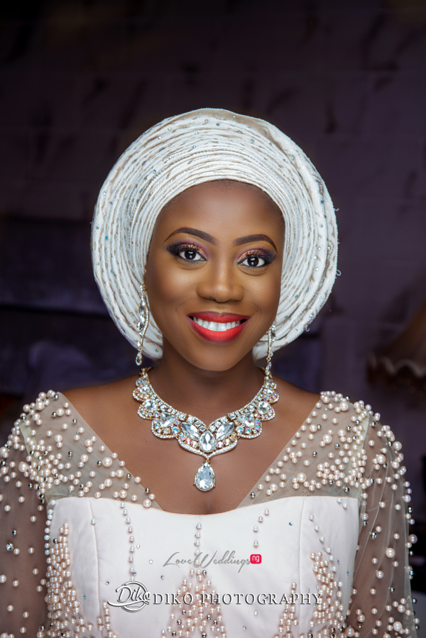 Nigerian Traditiona Bride Kenny LoveweddingsNG Diko Photography