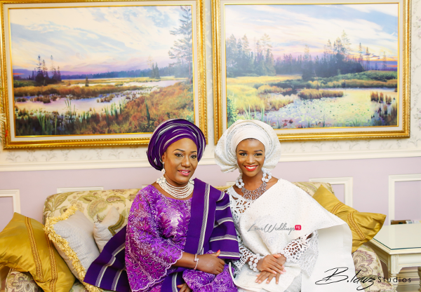 Nigerian Traditional Bride Tomi Odunsi and mum BLawz LoveweddingsNG