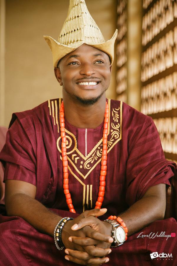 Nigerian Traditional Groom Seyi and Bisola DBM Pictures LoveweddingsNG