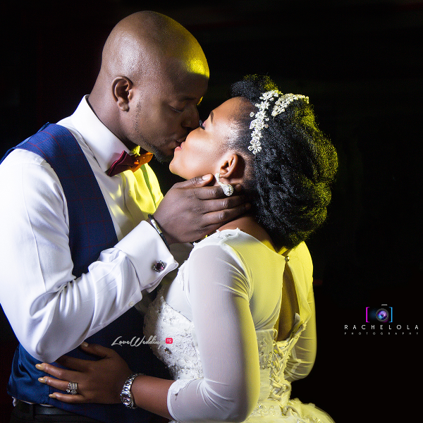 Nigerian White Wedding Couple Kiss Seyi and Bisola DBM Pictures LoveweddingsNG