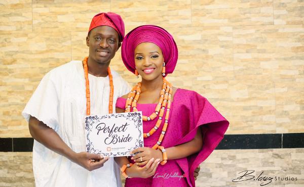 Tomi Odunsi and Seun Fadina Nigerian Traditional Wedding BLawz LoveweddingsNG 1