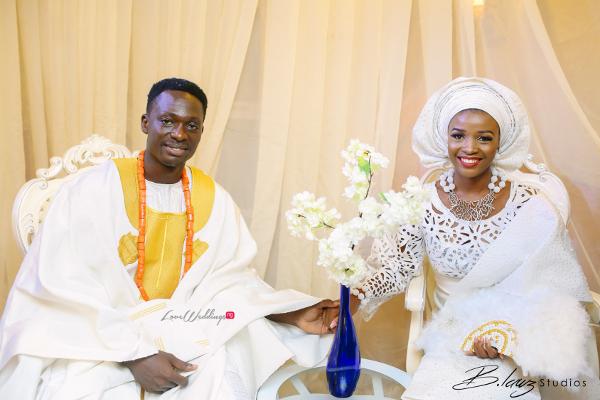 Tomi Odunsi and Seun Fadina Nigerian Traditional Wedding BLawz LoveweddingsNG 3