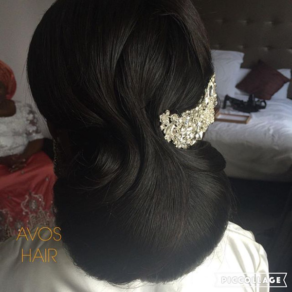 UK Bridal Stylist Avos Hair LoveweddingsNG 1