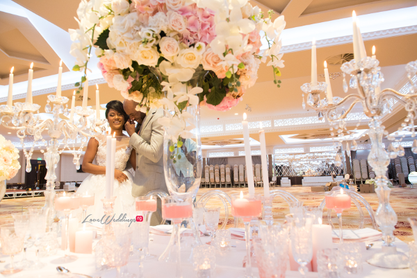 Forever Blush Styled Shoot Cristal Olivier Weddings Bride and Groom LoveweddingsNG 11