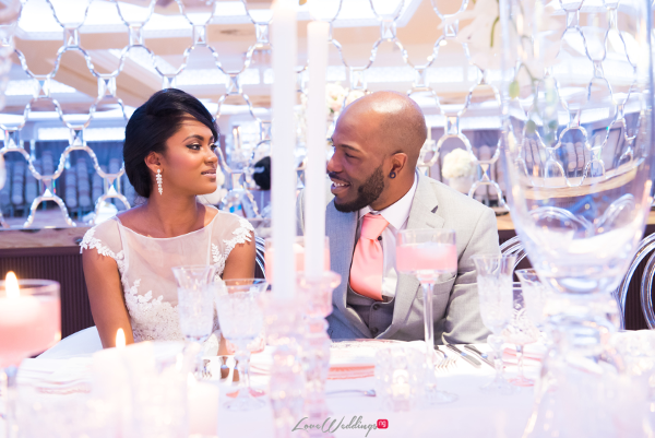 Forever Blush Styled Shoot Cristal Olivier Weddings Bride and Groom LoveweddingsNG 4