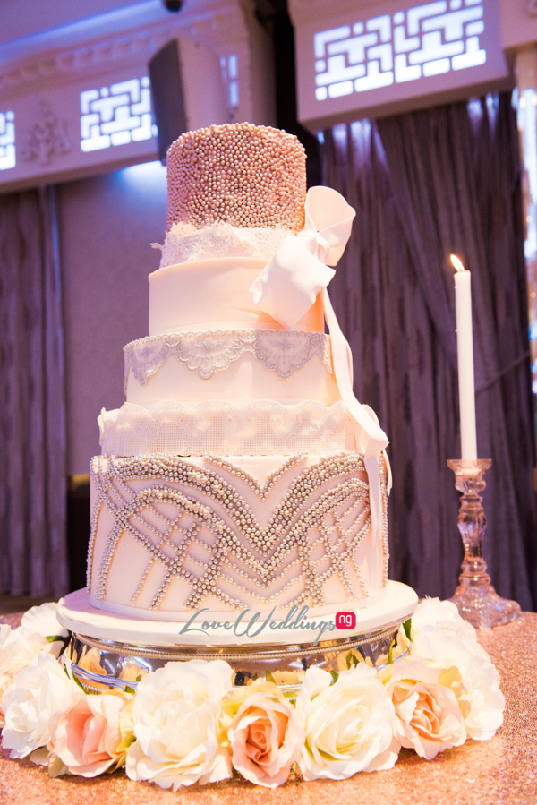 Forever Blush Styled Shoot Cristal Olivier Weddings Cake LoveweddingsNG 3