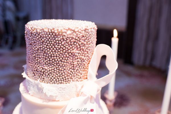 Forever Blush Styled Shoot Cristal Olivier Weddings Cake LoveweddingsNG