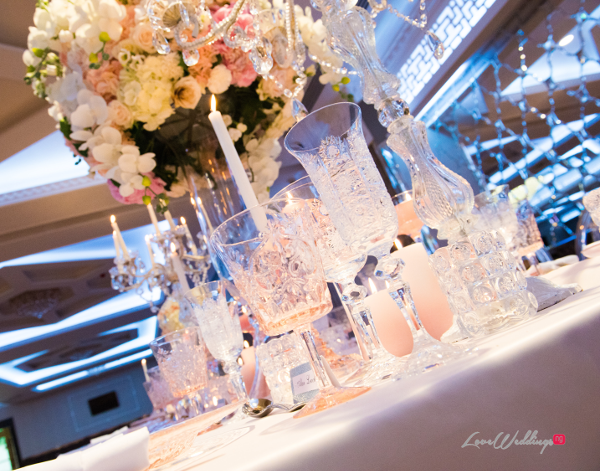Forever Blush Styled Shoot Cristal Olivier Weddings Table Decor LoveweddingsNG 5