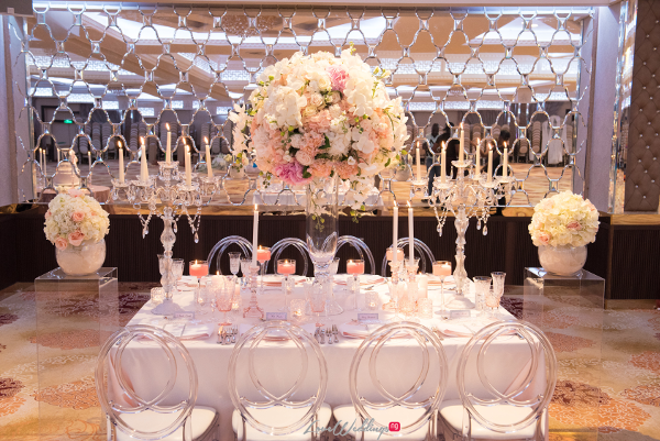 Forever Blush Styled Shoot Cristal Olivier Weddings Table Decor LoveweddingsNG 6
