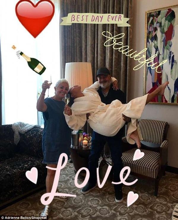 Isreal Houghton Adrienne Bailon Engaged LoveweddingsNG 1