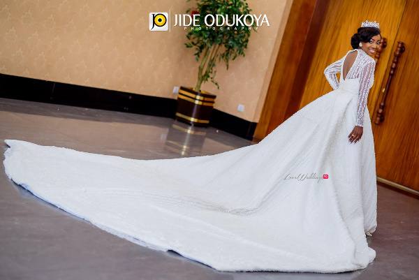 Kunbi Oyelese April by Kunbi Bridal Gown LoveweddingsNG 2