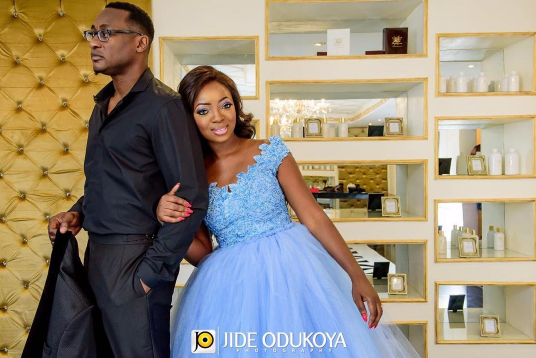 Nigerian Bridal Designer – Kunbi Oyelese of April by Kunbi set to wed Lanre Tomori