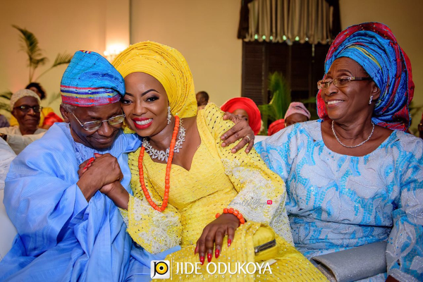 Kunbi Oyelese Lanre Tomori Traditional Wedding LoveweddingsNG 3