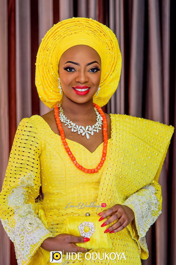 Kunbi Oyelese Lanre Tomori Traditional Wedding LoveweddingsNG 8