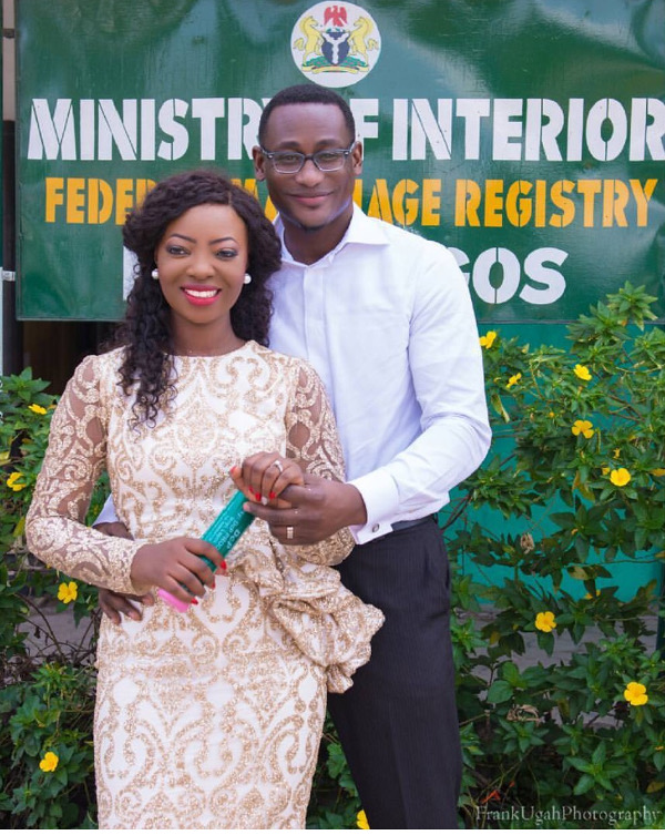 Kunbi Oyelese of April by Kunbi and Lanre Registry Wedding LoveweddingsNG