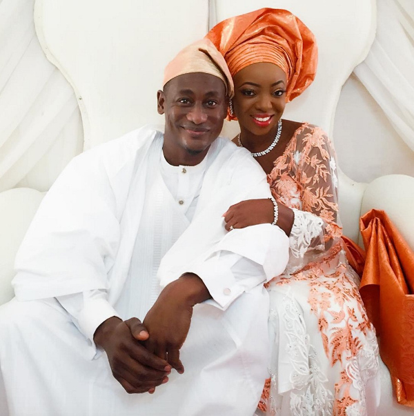 Kunbi Oyelese of April by Kunbi and Lanre Tomori Introduction LoveweddingsNG