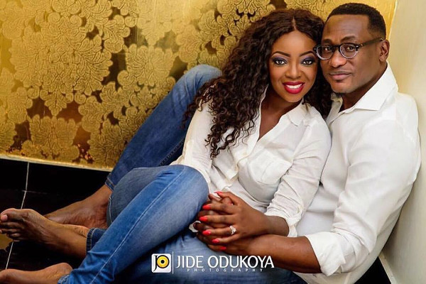 Kunbi Oyelese of April by Kunbi and Lanre Wedding LoveweddingsNG